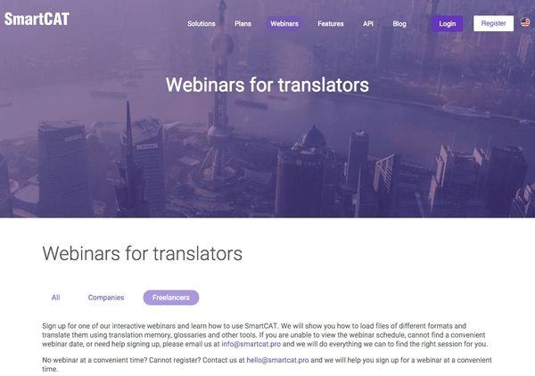 Learning the Ropes: Webinars for Translators