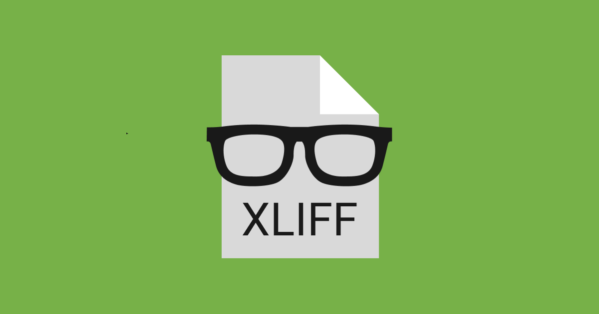 Should you use XLIFF for software localization?